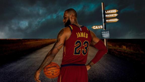 Way-too-early NBA Power Rankings: The world waits for the King