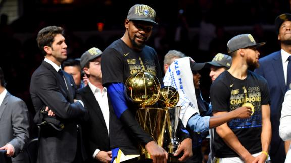 Another year, another Finals MVP for Durant