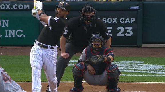 White Sox hit early back-to-back jacks