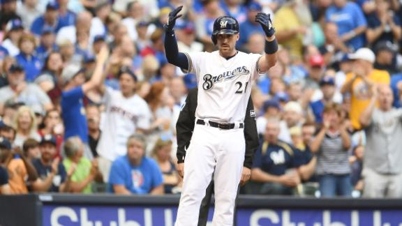 Brewers pick up rare win against Cubs this season