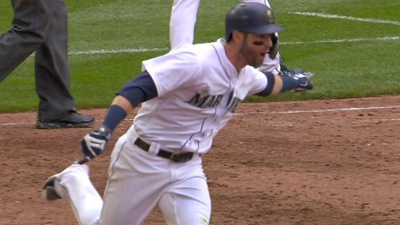 Haniger wins it for Seattle with walk-off homer
