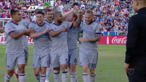 Colorado 2-2 Chicago: Katai seals draw