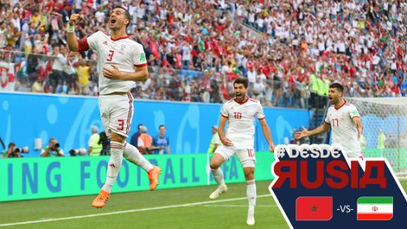 Segunda victoria de Irán en un mundial