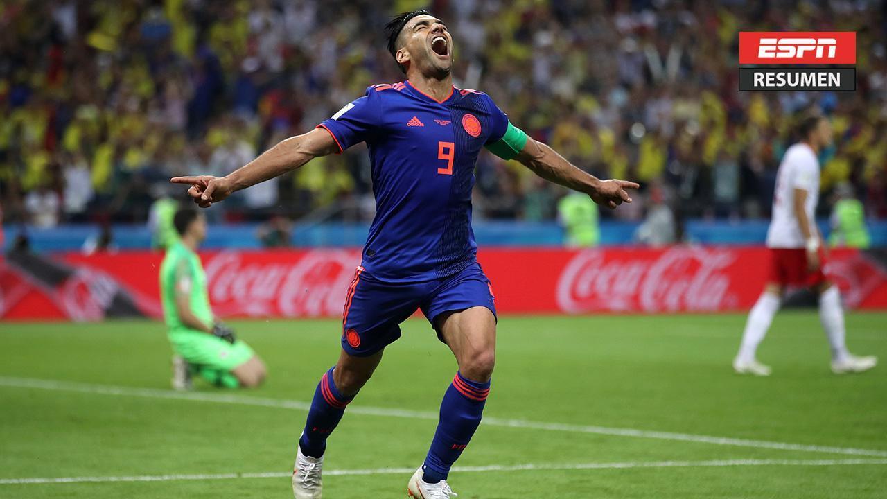 Colombia goleó 3-0 a Polonia y sueña con l