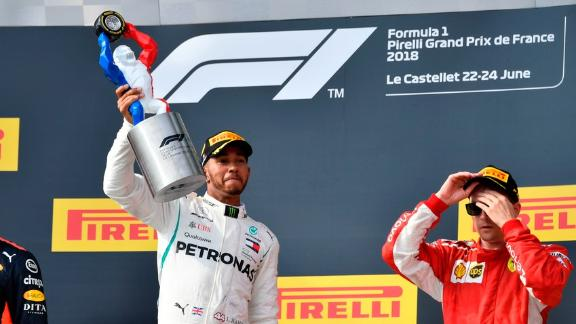 Hamilton wins French Grand Prix