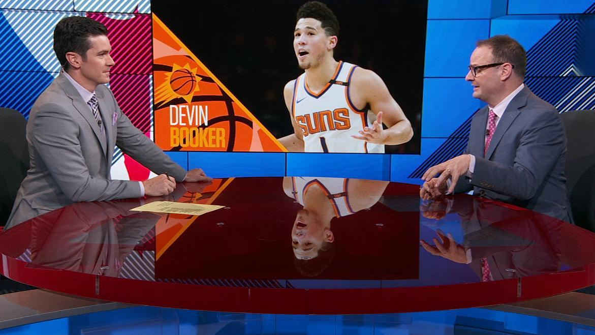 Booker, Suns working towards extension