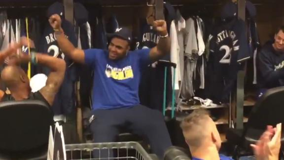 Aguilar finds out he's an All-Star