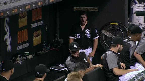Rodon has a meltdown in dugout