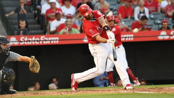 Pujols ties Griffey on all-time HR list