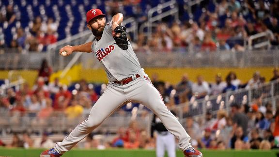 Arrieta pitches 7 strong innings