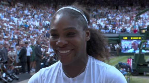 Let's keep making noise! - Serena dedicates Wimbledon run to fellow mothers