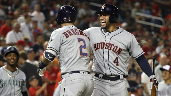 Astros come up big for AL win