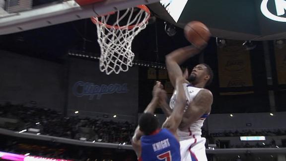 DeAndre Jordan posterizes Knight with monster slam