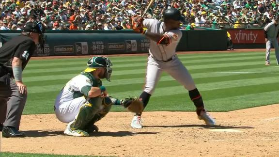 McCutchen up to 10 homers on season