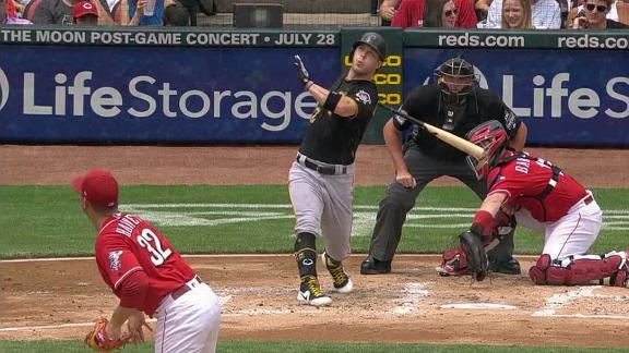Dickerson homers in 4th straight game, Bucs win 9th straight