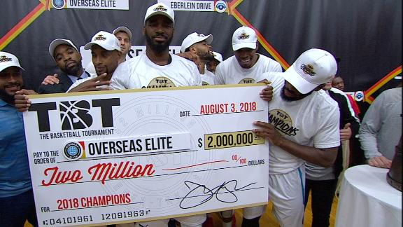 Image result for overseas elite wins tbt 2018