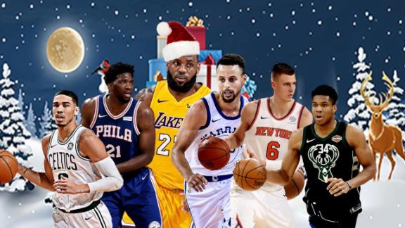 LeBron James, Lakers face Warriors to highlight Christmas Day schedule   abc7.com