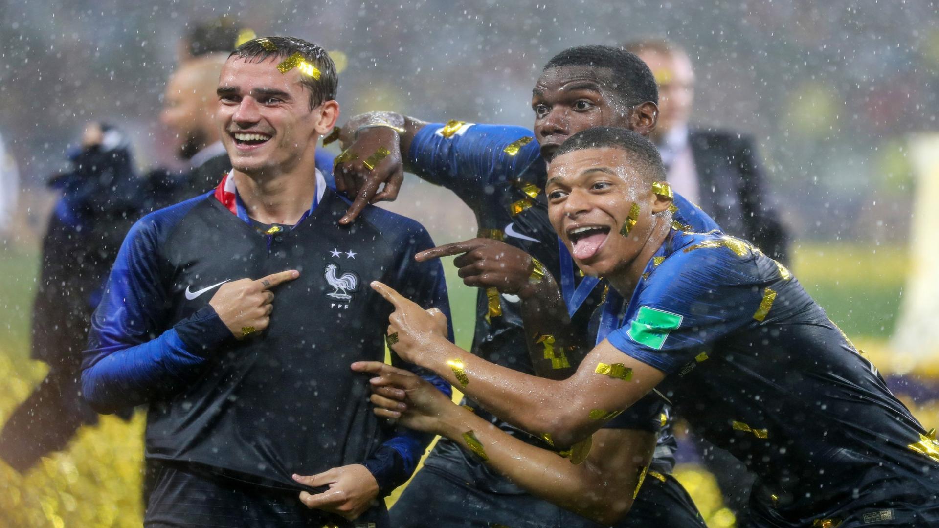 Francia No.1 del ranking FIFA