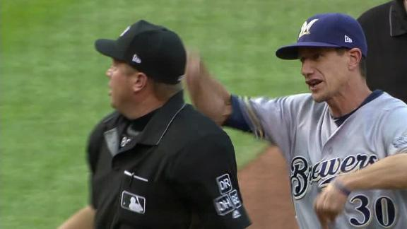 Counsell sent packing in 1st inning