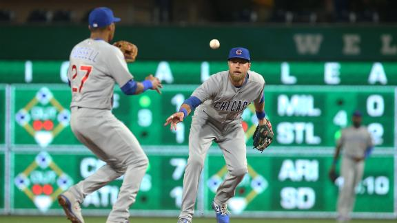 Cubs tie record with 7 double plays turned