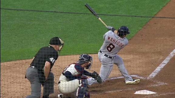 Mahtook's 3-run HR gets out in a hurry