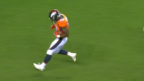 Freeman scampers in for TD