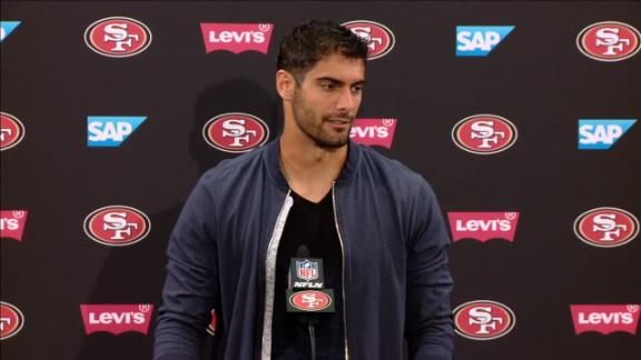 Garoppolo: 'It's a different mindset than last year'