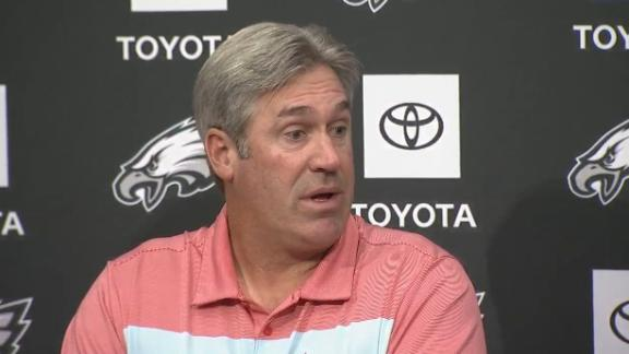 Pederson: We drafted Wentz 'to be our guy'