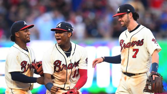 Braves' young talent wins them NL East