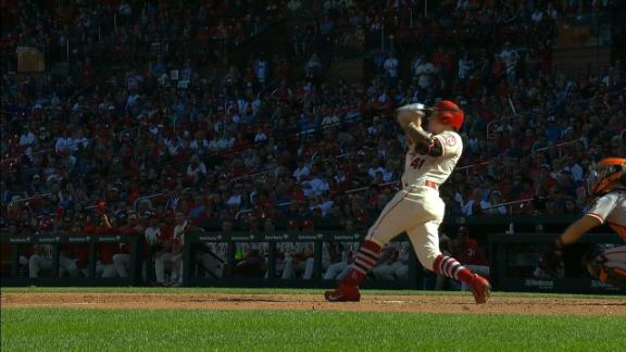 Cardinals walk off on O'Neill's solo HR