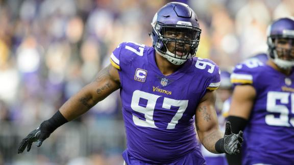Vikings DE Griffen in hospital after hotel incident