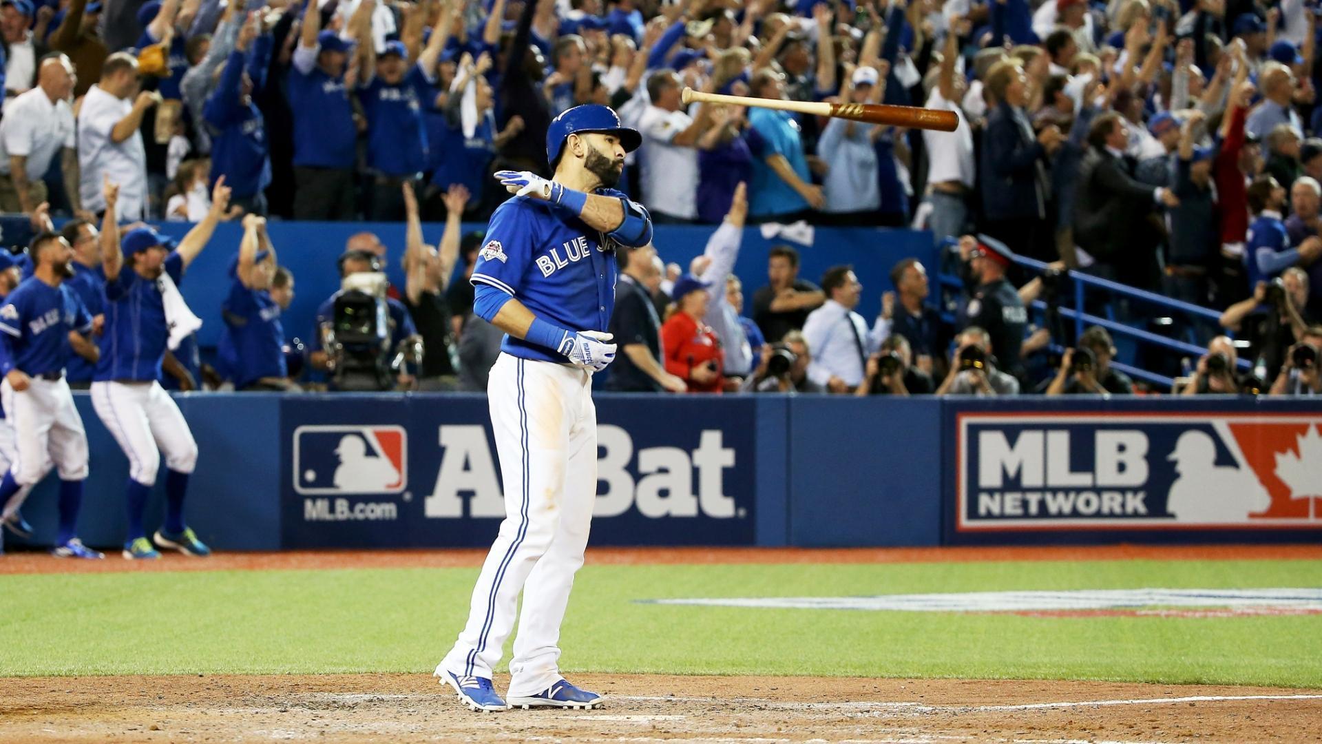 On this date: Bautista's epic bat flip