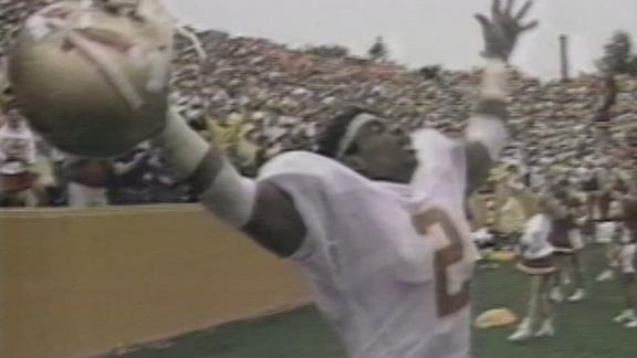 Deion was electric at Florida State