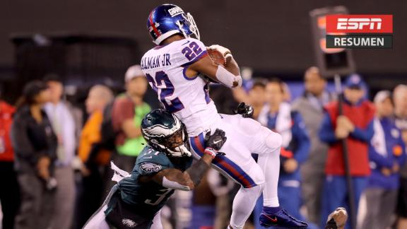 Eagles aplastan a los Giants