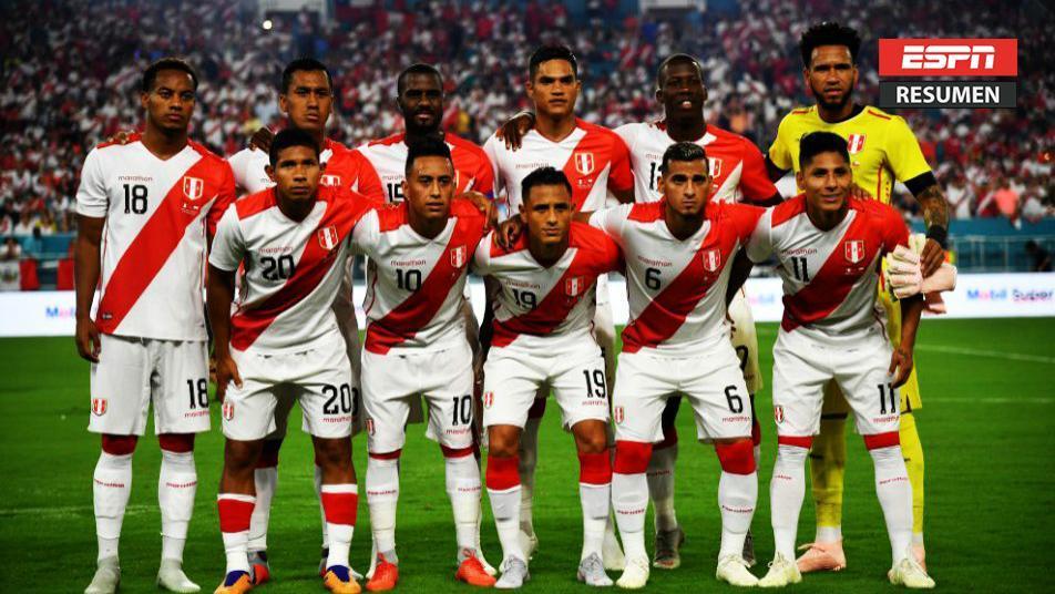 Resumen: ¡Perú goleó por 3-0 a Chile en Miami!