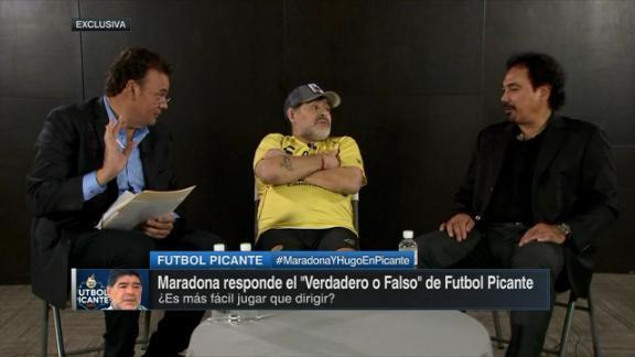 ¿Maradona es más que Messi?