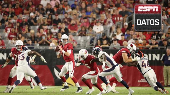 ESPN Datos: Broncos vs Cardinals