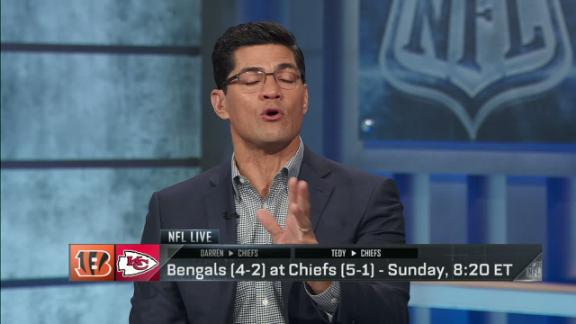 Bruschi, Woodson like Chiefs to beat Bengals in shootout