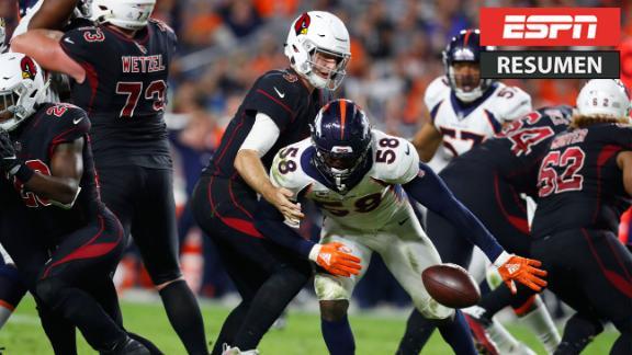 Broncos reencontraron triunfo ante Cards