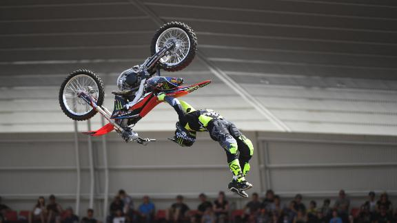 Josh Sheehan wins Moto X Freestyle silver
