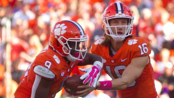 Clemson looks ready to soar as passing game takes off