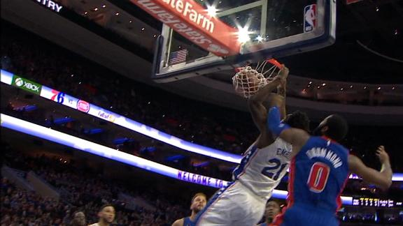 Joel Embiid Stats News Videos Highlights Pictures Bio