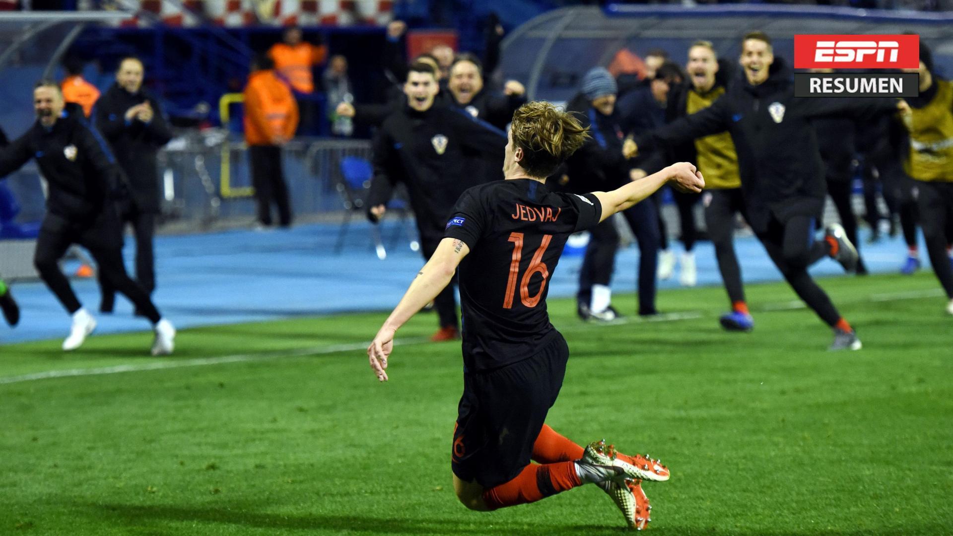 Croacia amargó a España en Zagreb