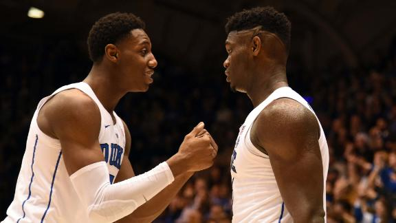 Barrett, Zion fuel Duke past Yale