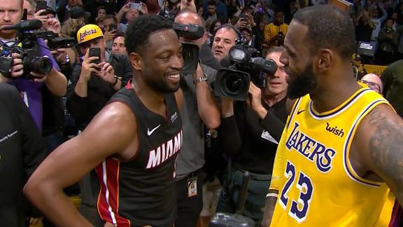 LeBron to Wade: 'It was either here or The Garden'