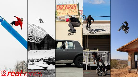 X Games announces the 2019 Real Series video competition lineup and