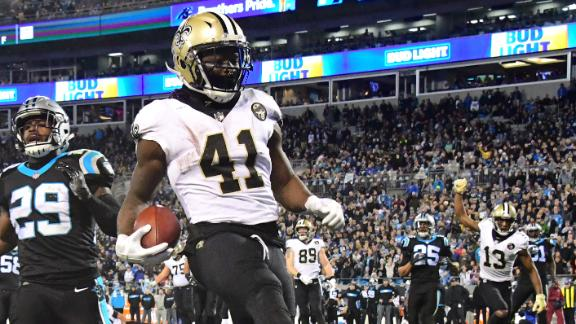 Saints hang on to top Panthers on MNF