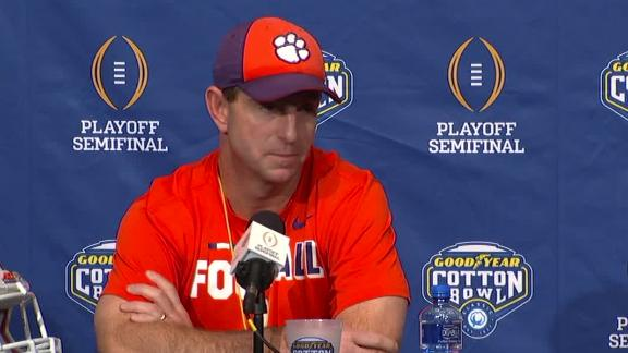 Swinney defends D  Lawrence, 2 others after failed drug tests