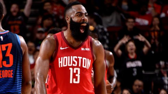 Harden's 41 helps Rockets beat Thunder 113-109 | AP sports