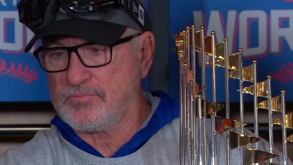 Could this be the last year for Joe Maddon with the Cubs?
